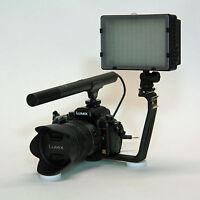 Pro Vm Sc-2l Video Mic Light For Olympus Om-d E-m5 Mark Ii 2 E-m1 Dslr Video