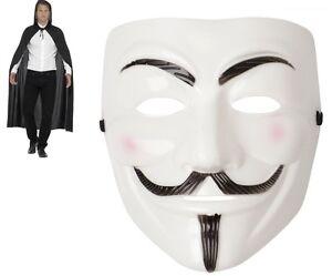 Men/'s Green Fancy Dress Cape /& Eye Mask Super Hero Phantom Stag Theme Latern Fun