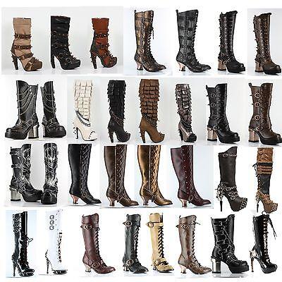 Hades Footwear Alternative Knee Boots 29 Styles