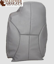 98-02 Dodge Ram 2500 SLT -Driver Lean Back Synthetic Leather Seat Cover GRAY