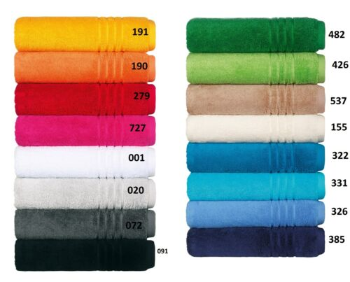 Egeria Madison 500 gramm/m2 Handtücher Duschtücher Gästetücher Seift. Waschh.