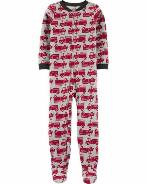 PAW PATROL Boys Marshall Fire Dog Fleece Footed Pajama Sleeper