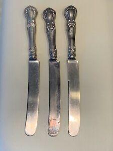 Gorham Buckingham Pattern 3 Sterling Silver Knives with Latema Blade
