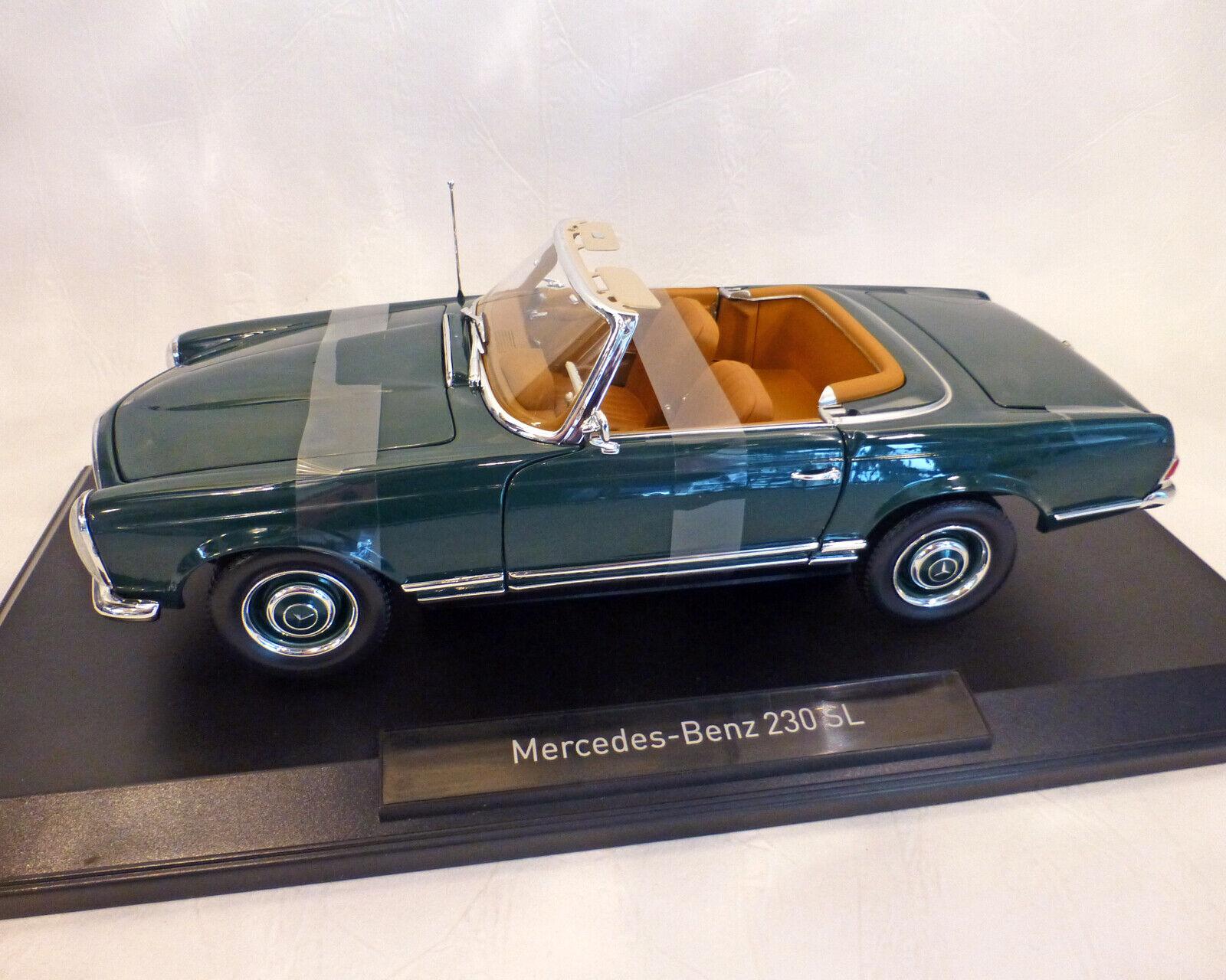Mercedes-Benz 230 SL Dunkelgruen, 1 18 NOREV
