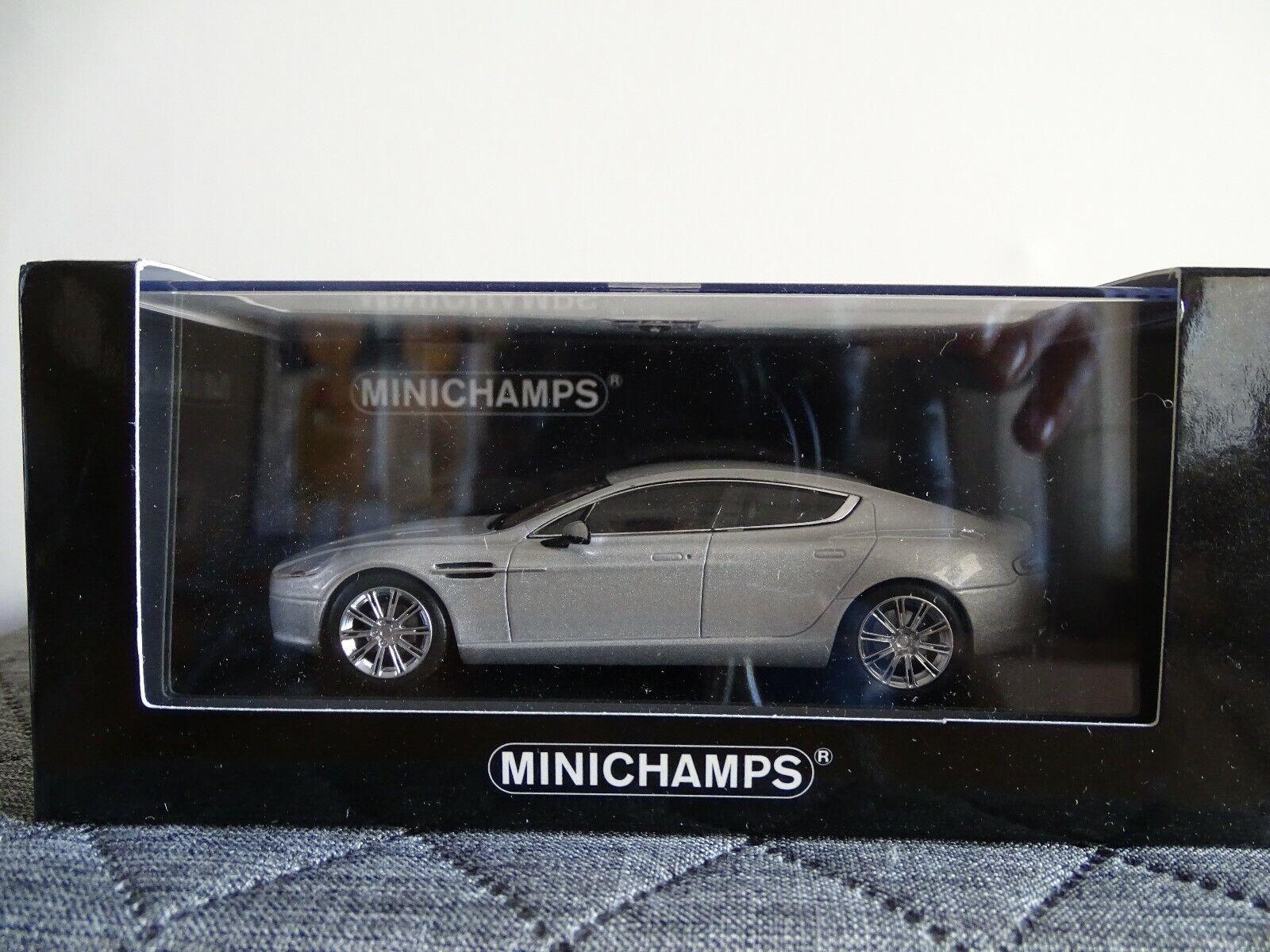 1 43 Minichamps  400137901 2010 Aston Martin Rapide argento Limitado Edt.   Nuevo