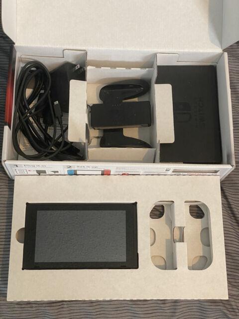 Nintendo Switch 32GB Console w/ NO JOY CONS.  READ DESCRIPTION!