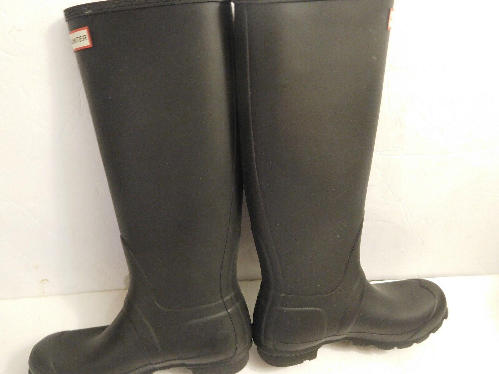 B-254 Hunter 'Original' Tall Rain Boot Matte Black (Women) Sz 6  150.00