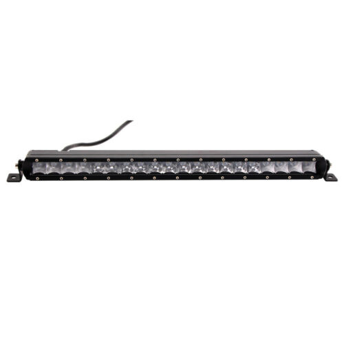 Slim 21inch 100W Single-Row LED Light Bar Combo Truck Driving Off-Road 4x4WD UTE