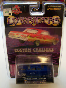 Racing-Champions-1-64-Lowriders-Custom-Cruisers-50-Ford-Coupe-Issue-24-1999