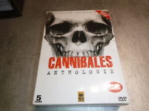 Horreur-Vintage-Ultra-rare-Coffret-Cannibales-Anthologie-5-film-Lenzi-d-039-amoto
