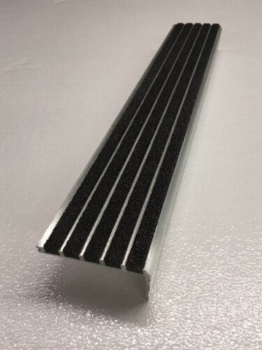 Stair Nosing P45BBLK48 Extruded Aluminum ARMSTRONG