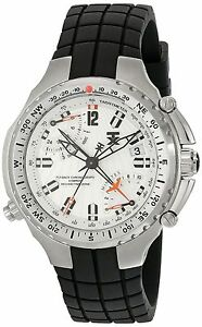 BRAND-NEW-TIMEX-TX-T3B881-H2Z481-FLYBACK-BLACK-CHRONOGRAPH-WHITE-DIAL-MENS-WATCH