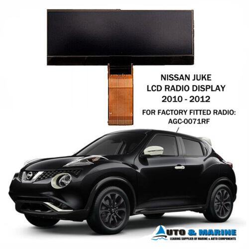 NISSAN JUKE LCD DISPLAY SCREEN for DAEWOO RADIO AGC-0070 AGC-0071  2010 2012 NEW