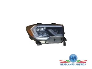 OEM Headlight - Toyota Sequoia (Black, w/o Platinum Model) 18-20 Rh