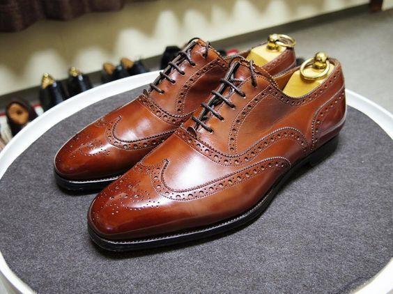 designer online Handmade Uomo Marrone spectator scarpe, wingtip brogue scarpe for for for men, office scarpe  consegna gratuita e veloce disponibile