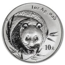 2003 China 1 oz Silver Panda BU (Sealed)