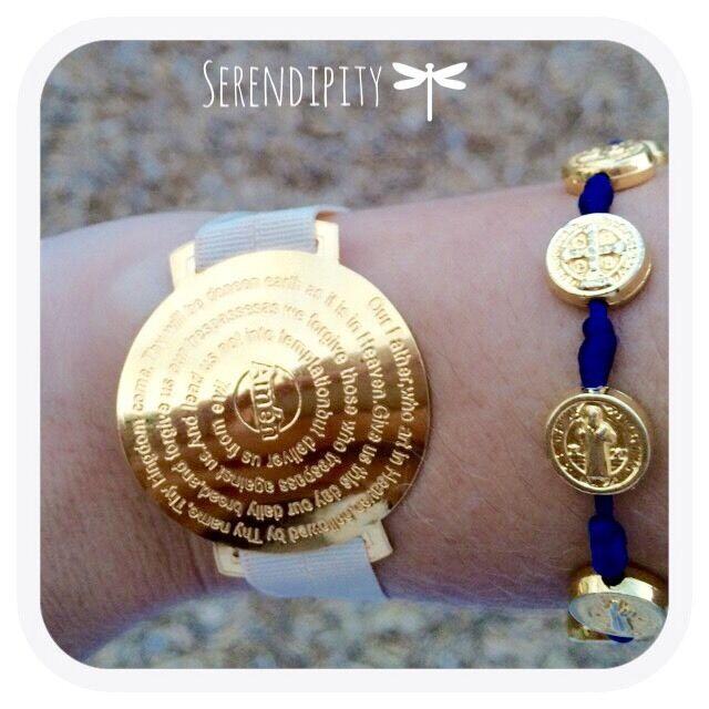 Fashion Bracelet Our Father Faith Prayer