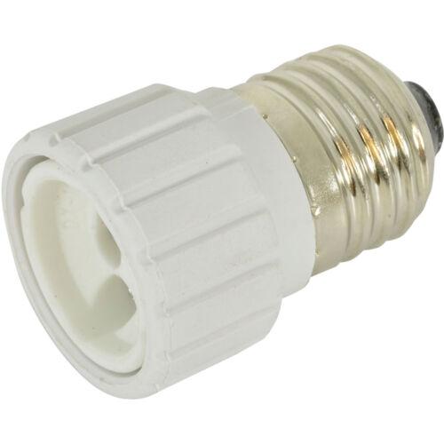 Light Bulb Adapter-E27 Edison Screw To Mini GU10 Bayonet Socket Converter Cap