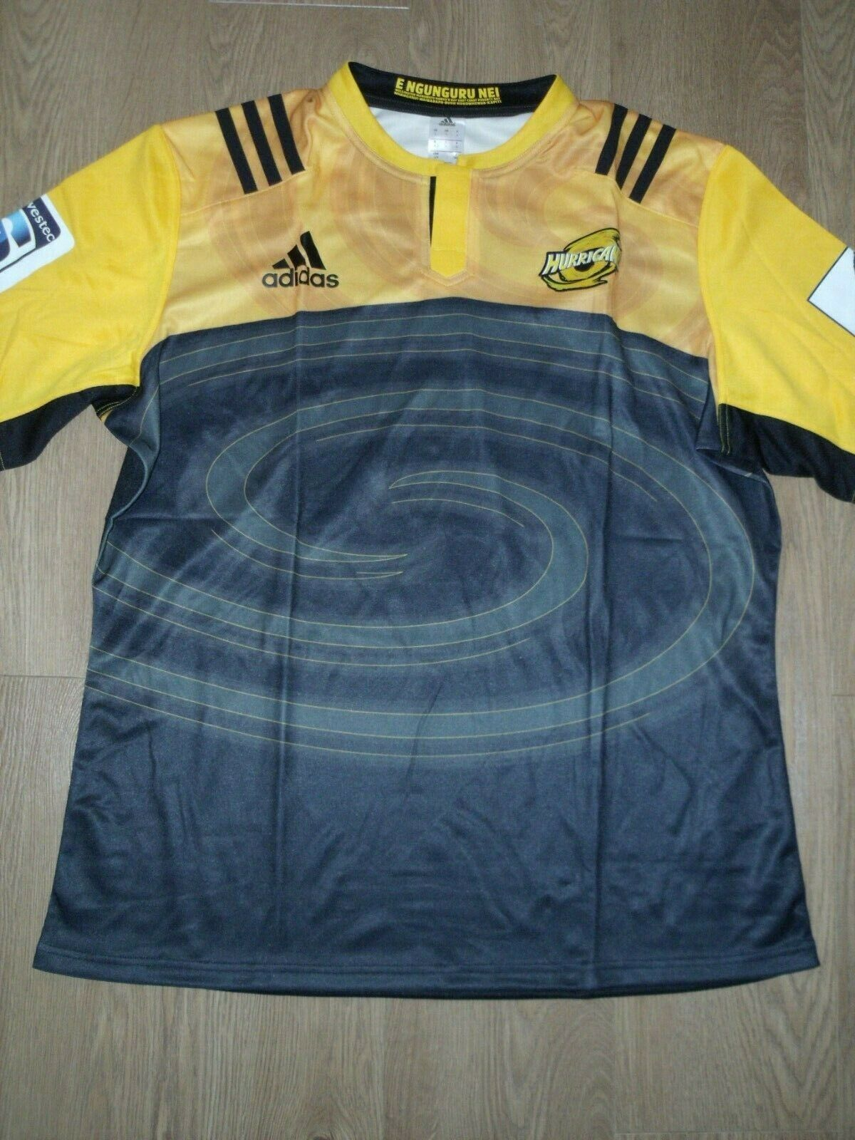 Hurricanes Neuseeland 2016 Heim Rugby Rugby Rugby Hemd Trikot Gelb Schwarz XXXL 3XL Neu 25d3d6