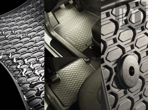 Esteras de goma goma tapices 4-tlg Fiat typo 16-berlina combi 4x clips