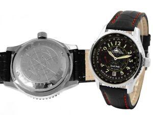 Gewidmet Poljot Mechanische Uhr Polarnik 3105/00711023 3105-00711023 De Ausgereifte Technologien