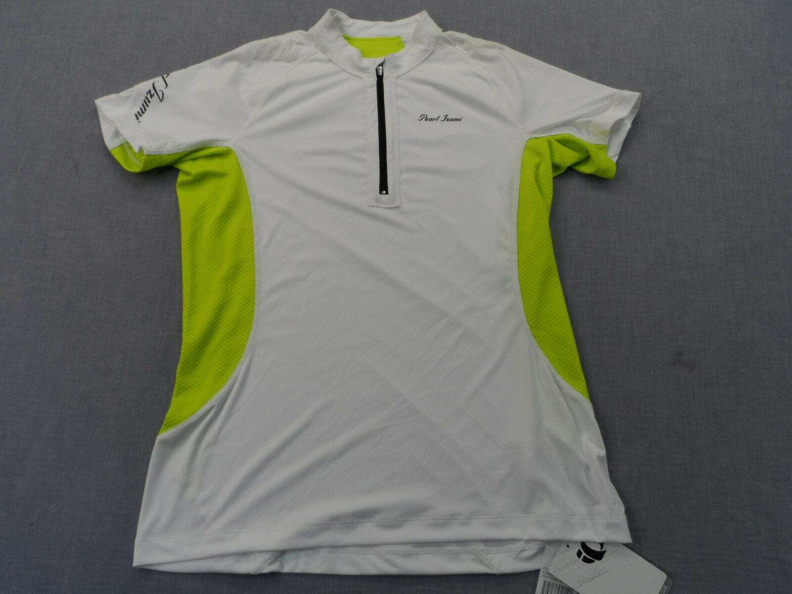 PEARL IZUMI IQ Womens ULTRA INSIDE-OUT ZIP RUNNING CYCLING SS SHIRT NWT  XL   65