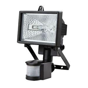 2 x 500W Halogen Floodlight Security Light Outdoor Garden With Motion Pir Sensor