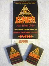 * LIMITED STARTER SET - LARGE  BOX *  * Illuminati INWO Card Game * ULTRA RARE *