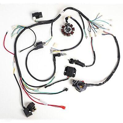 lifan 200cc atv wiring complete electrics atv quad dirt bike wiring harness 150 200cc  atv quad dirt bike wiring harness