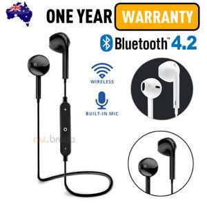 35ed8c64335 Image is loading Wireless-Bluetooth-4-2-Headset-Earphone-Sport-Headphone-