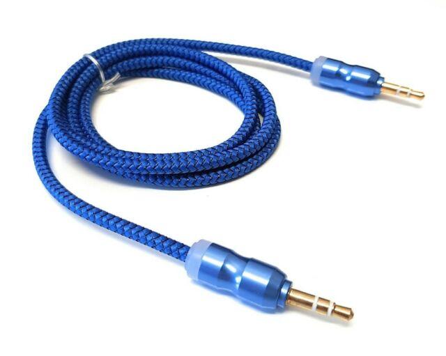 3,5 mm Klinke Buchse auf Stecker Kopfhörer Stereo Audio Verlängerungskabel Hl