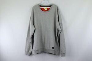 Adidas-x-David-Beckham-Mens-2XL-XXL-Spell-Out-Soccer-Crewneck-Sweatshirt-Gray