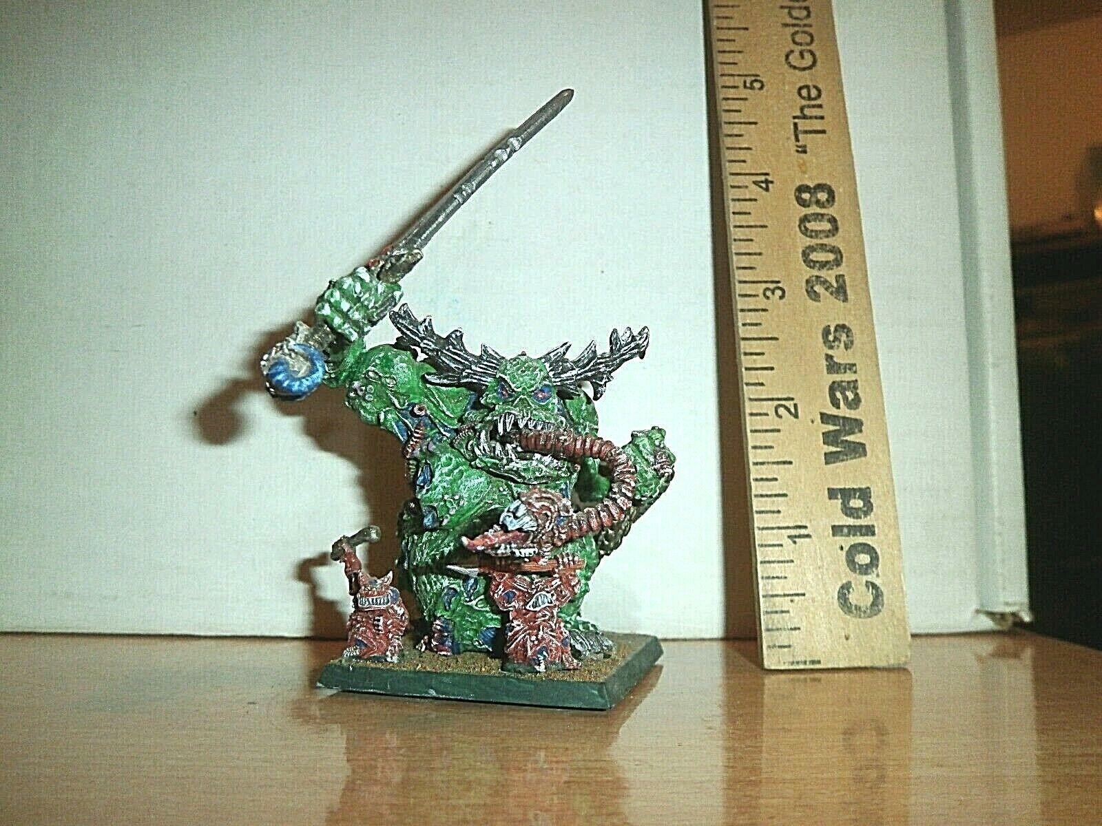 Warhammer Fantasy   40K metal Chaos Greater Demon of Nurgle plague demon METAL
