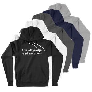 I'm All Panic and No Disco PATD Fan Gift Music Funny Saying Hoodie Sweatshirt