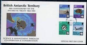 Brit-Antarktis-Gebiete-MiNr-181-84-Ersttagsbriefe-FDC-Arktis-Ark5013