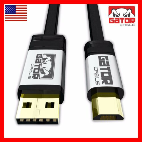 Micro USB 2.0 Fast Charge Sync Data Cable for Samsung J S4 S6 S7 Android HTC LG