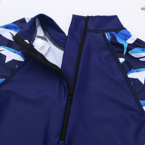 Enfants Filles Maillot de bain Swimwear Rash Guard Costume Protection UV Plage Surf Costume