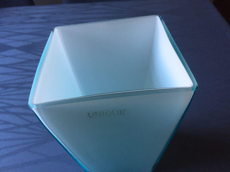 Glas, Vase, UNIQUE