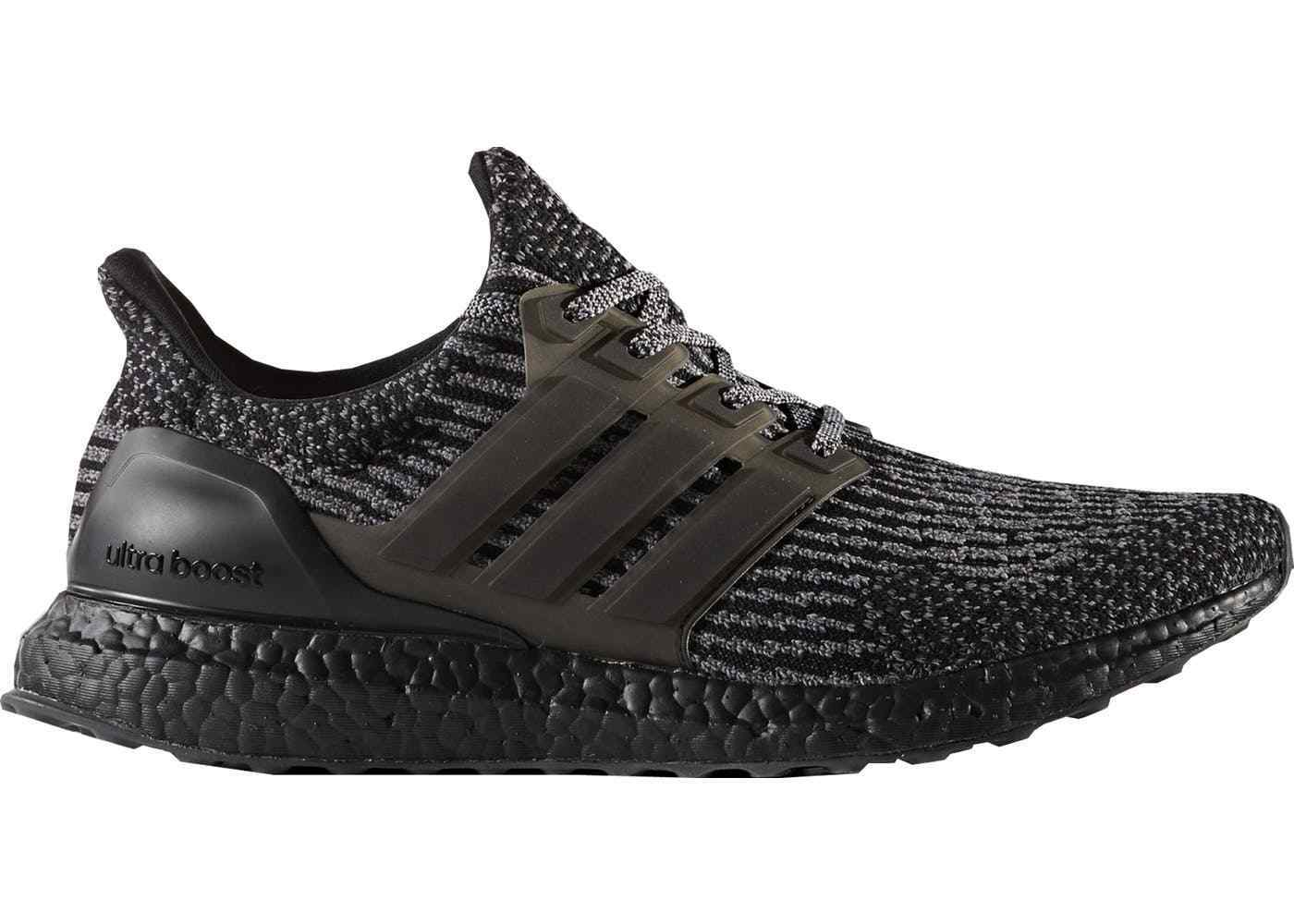 Adidas Ultra Boost 3.0 Triple Black CG3038 DS Size Men's 8.5 100% Authentic