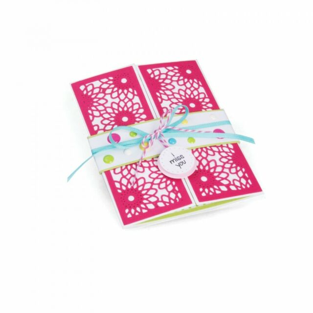 Sizzix Framelits Dies by Stephanie Barnard HALF CARD PANELS 561839