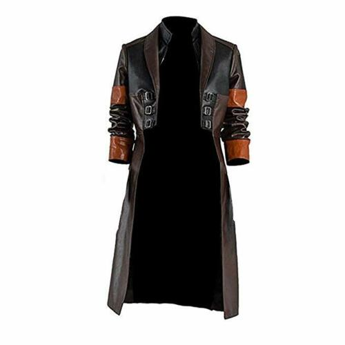 Gamora Guardians of The Galaxy 2 Female Warrior Cosplay Faux Leather Coat /& Pant