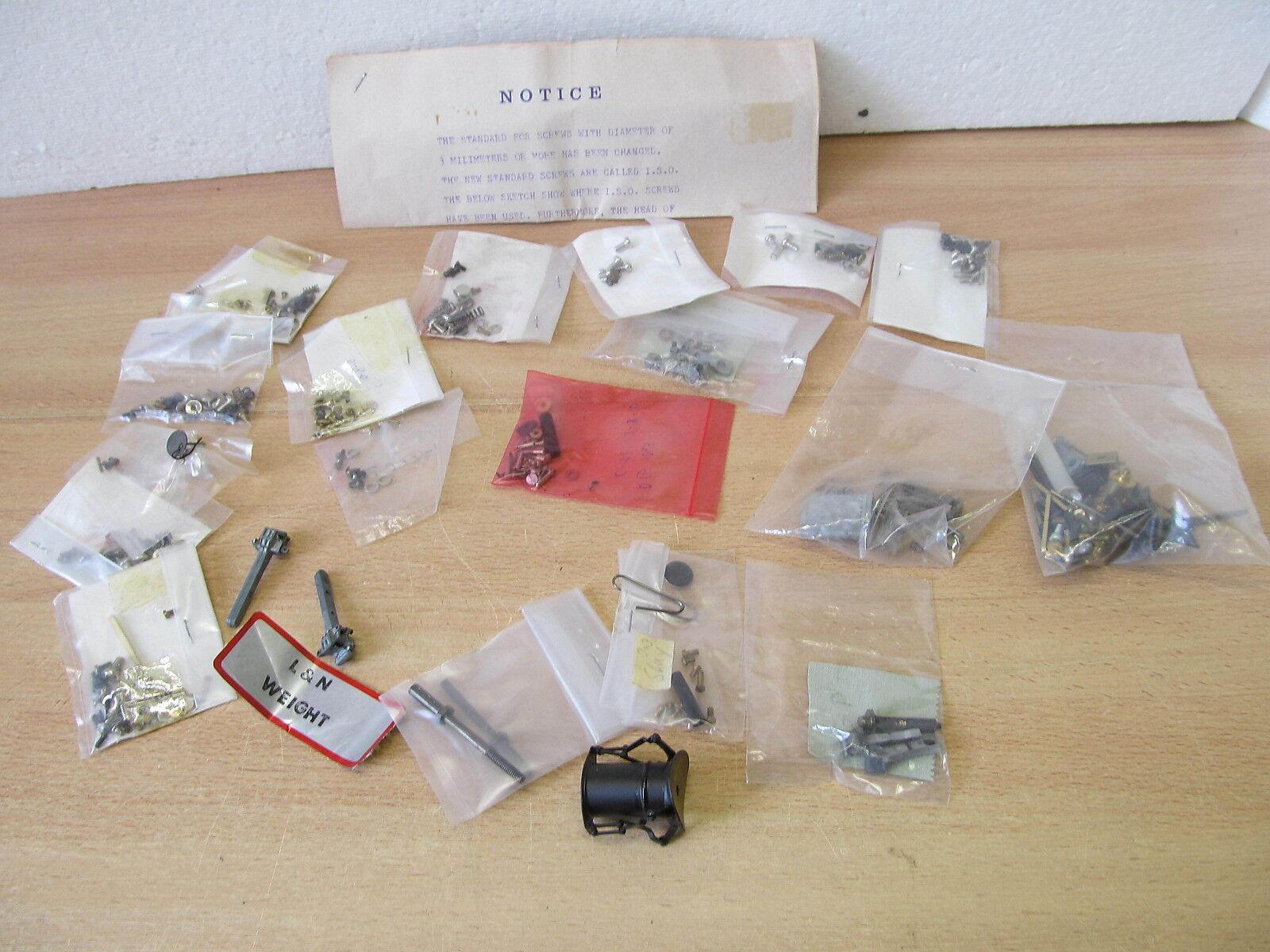 Mes-34534 sp0 useful accessories zurüstteile for US wagons, locomotives, Metal