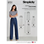 Simplicity Sewing Patterns Women Trousers//leggings Incl Spring 18