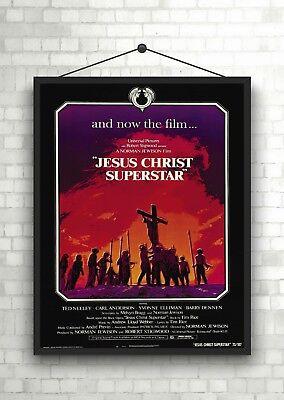 Jesus Christ Superstar Vintage Movie Poster Art Print A0 A1 A2 A3 A4 Maxi