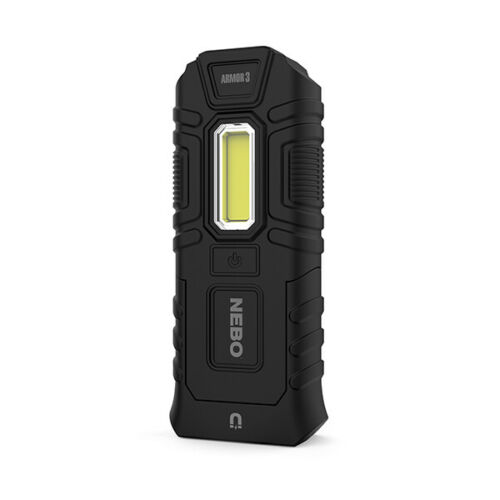 NEBO Armor waterproof Flashlight//Worklight-impact resistant to 66ft