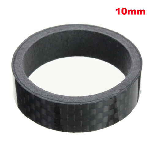 "1//5pcs Stem Washers Carbon 5 Sizes Headset Spacers 1-1//8/"" MTB Bike Bicycle Fork"