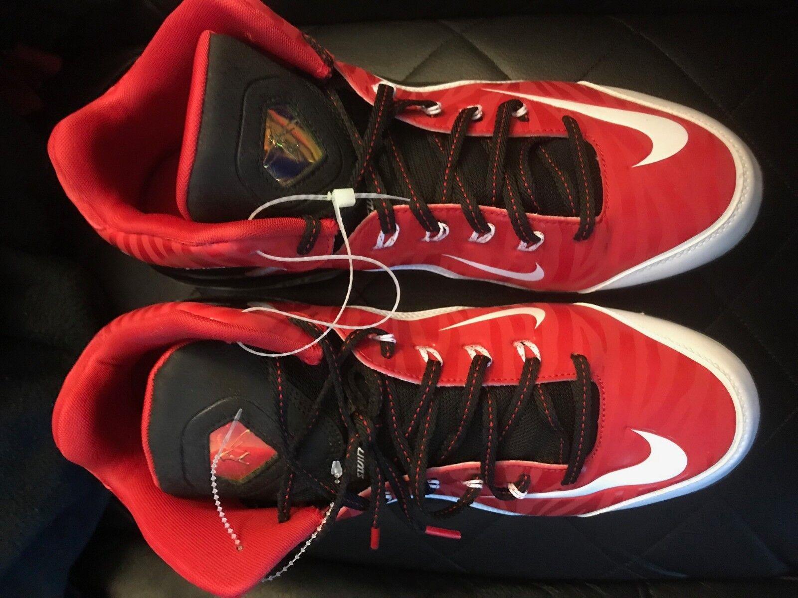 Nike griffey swingman cleats size 13 new reds