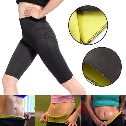 Womens Yoga Sweat Shapers Belt Neoprene Body Shaper Set Slim Waist Pants Belt ##