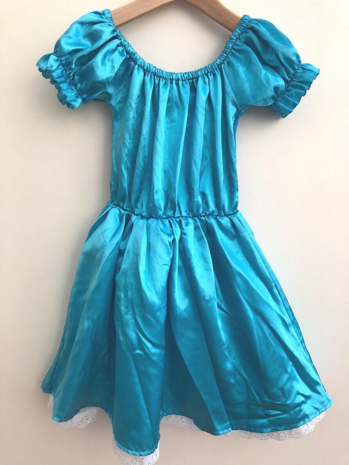 Girls Two Piece Fancy Dress Costume Age 5-6 Wicked <DD833z