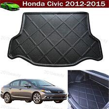 Honda Civic 2012-2015 Car Boot Pad liner Cargo Mat Tray Trunk Floor Carpet Mat